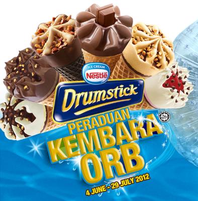 Peraduan Nestle Drumstick 'Kembara Orb'
