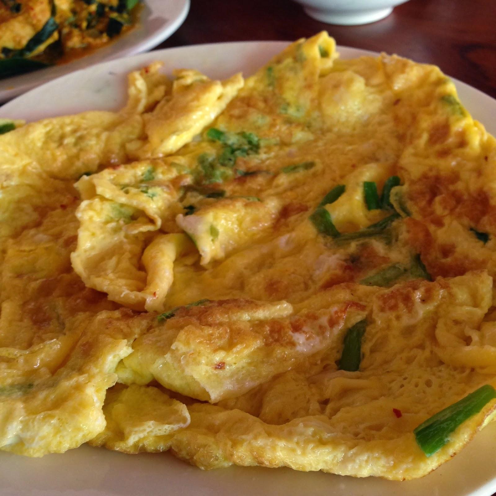 Cambodian Muslim Restaurant Fried Egg