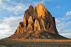Shiprock diatreme in northwestern New Mexico