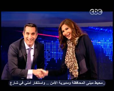 تفاصيل علاقة باسم يوسف واليسا بالصور 2013