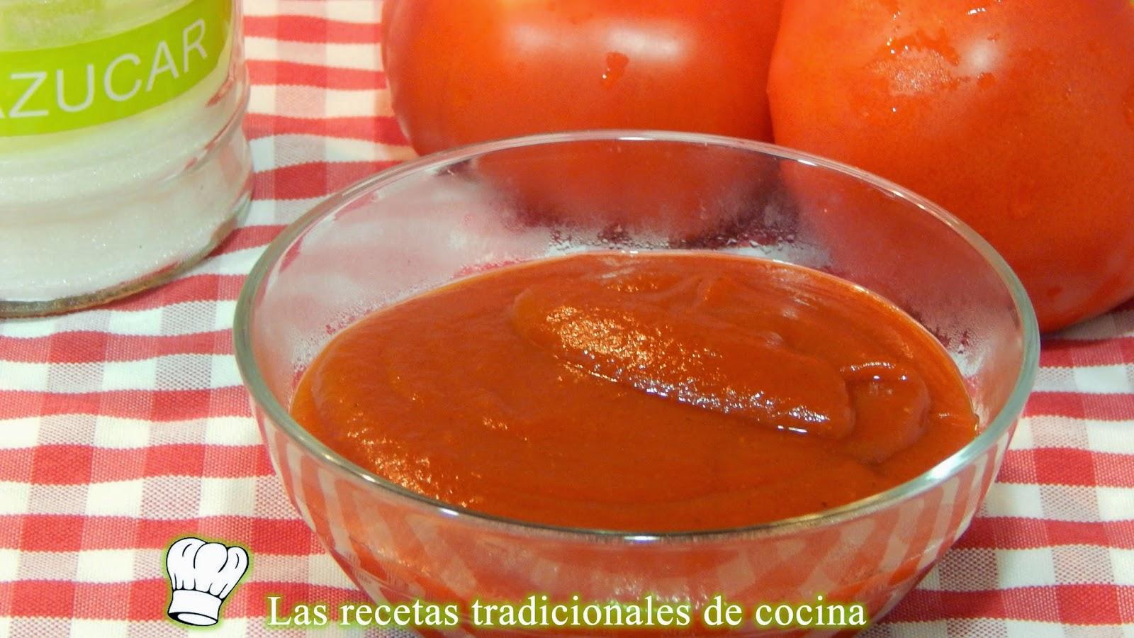 salsa ketchup casera