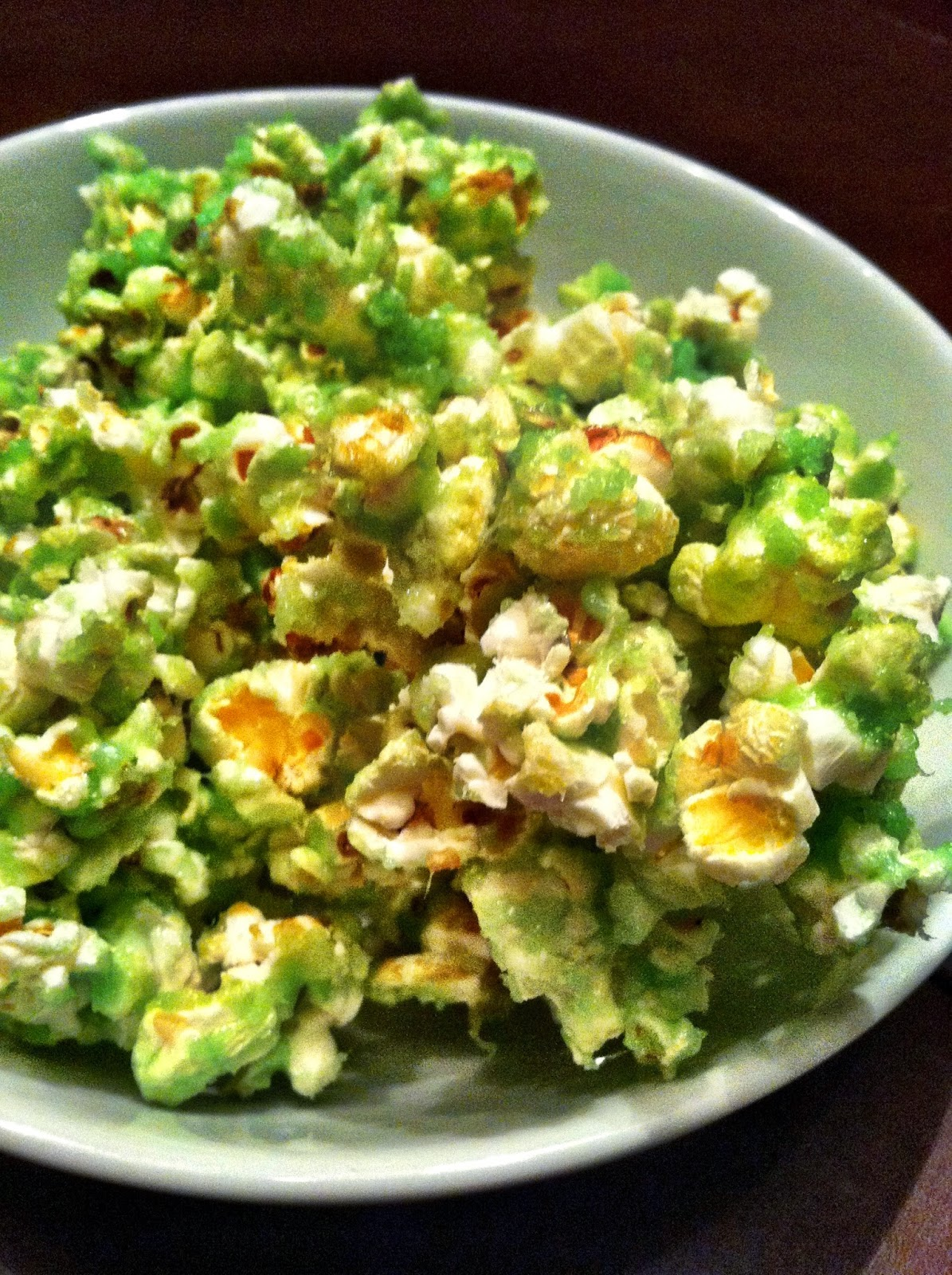 St Patricks Day Leprechaun Popcorn