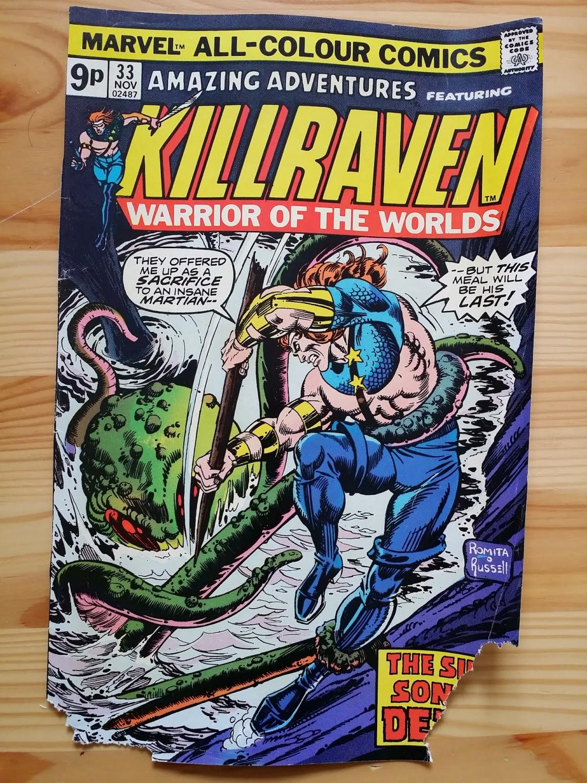 Marvel Killraven Warrior of the Worlds