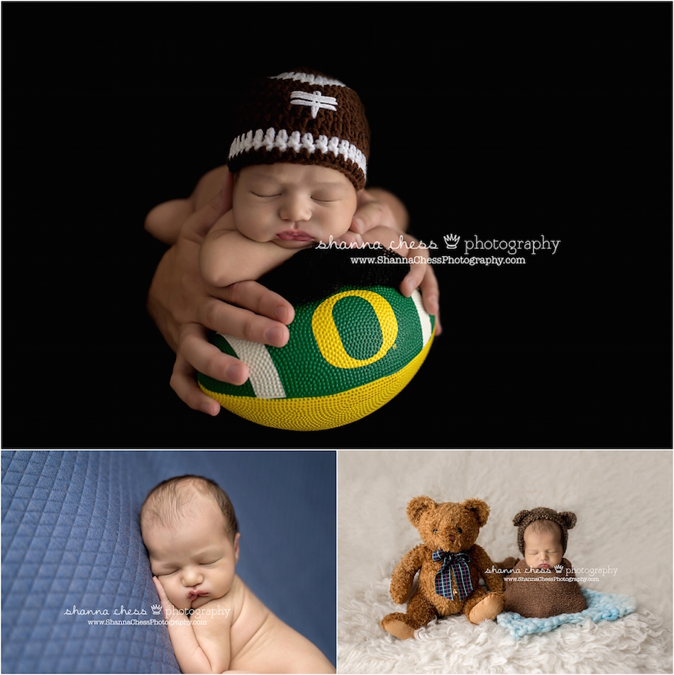 eugene and springfield oregon newborn photographer