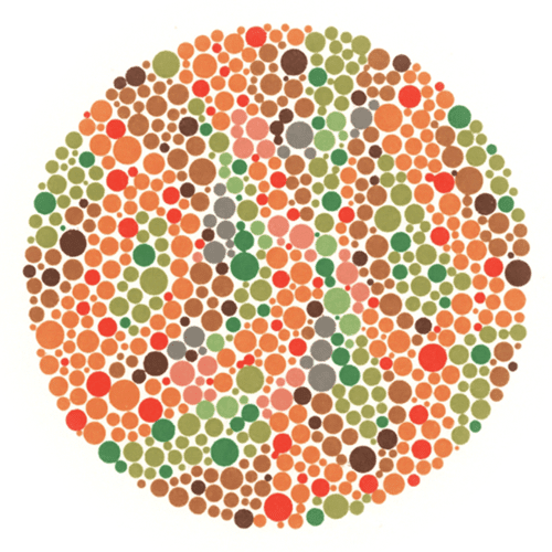 Color Eye Test Page