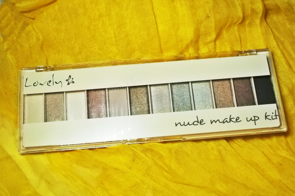 Lovely nude make up kit