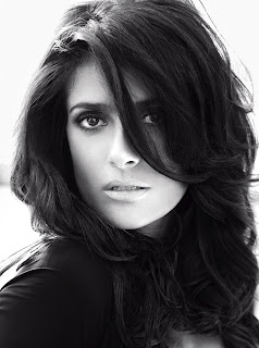 Salma Hayek photographed for Vogue Germany Sept. 2012 issue