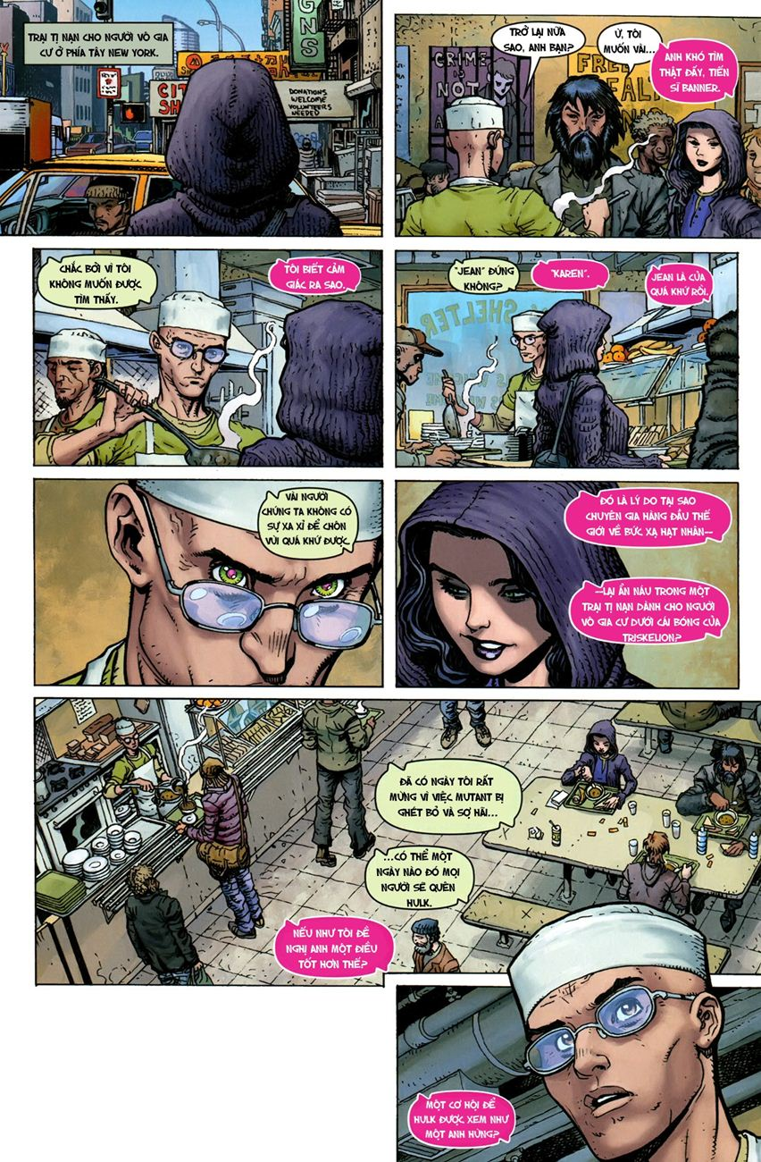 TruyenHay.Com - Ảnh 9 - Ultimate Comics X Chap 5