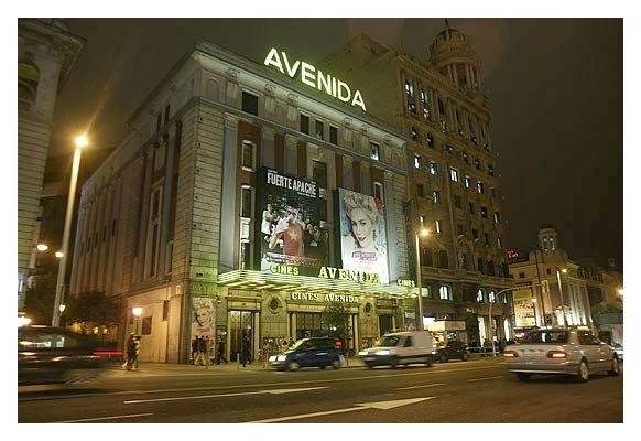 Cine avenida. Madrid
