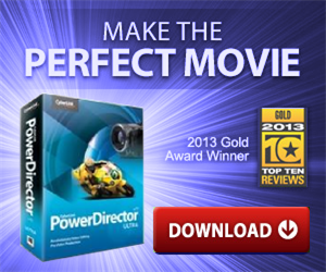 PowerDirector Ultra - Video Editing Program
