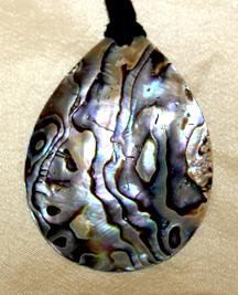 my abalone pendant