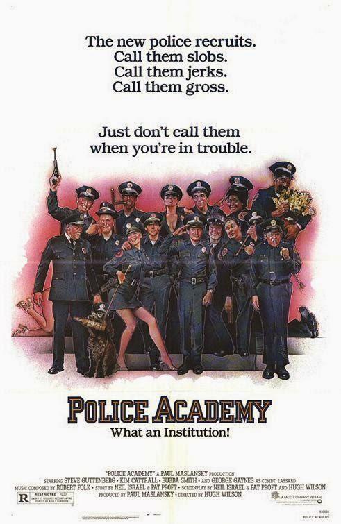 Loca, academia, policía