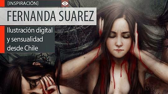 Ilustración digital y sensualidad de FERNANDA SUAREZ