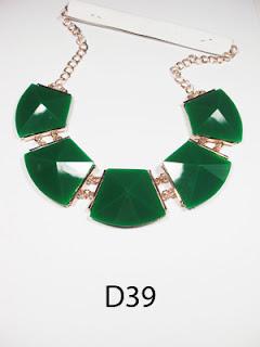 kalung aksesoris wanita d39