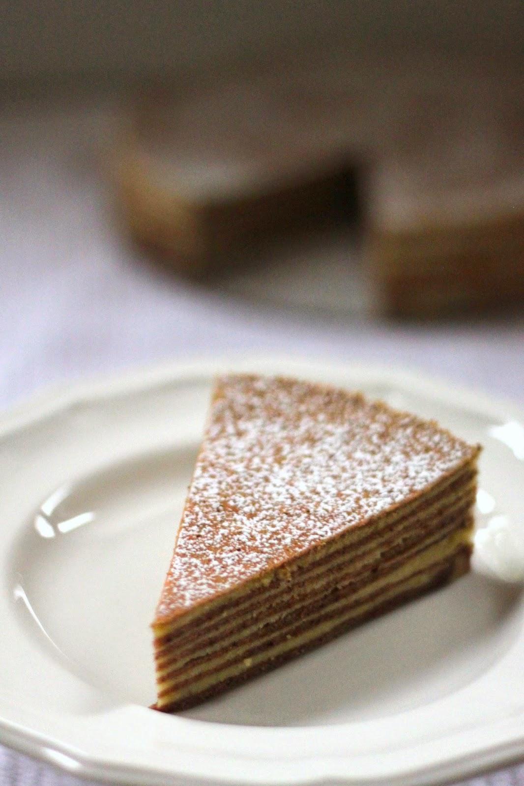 Indonesian Spekkoek Cake