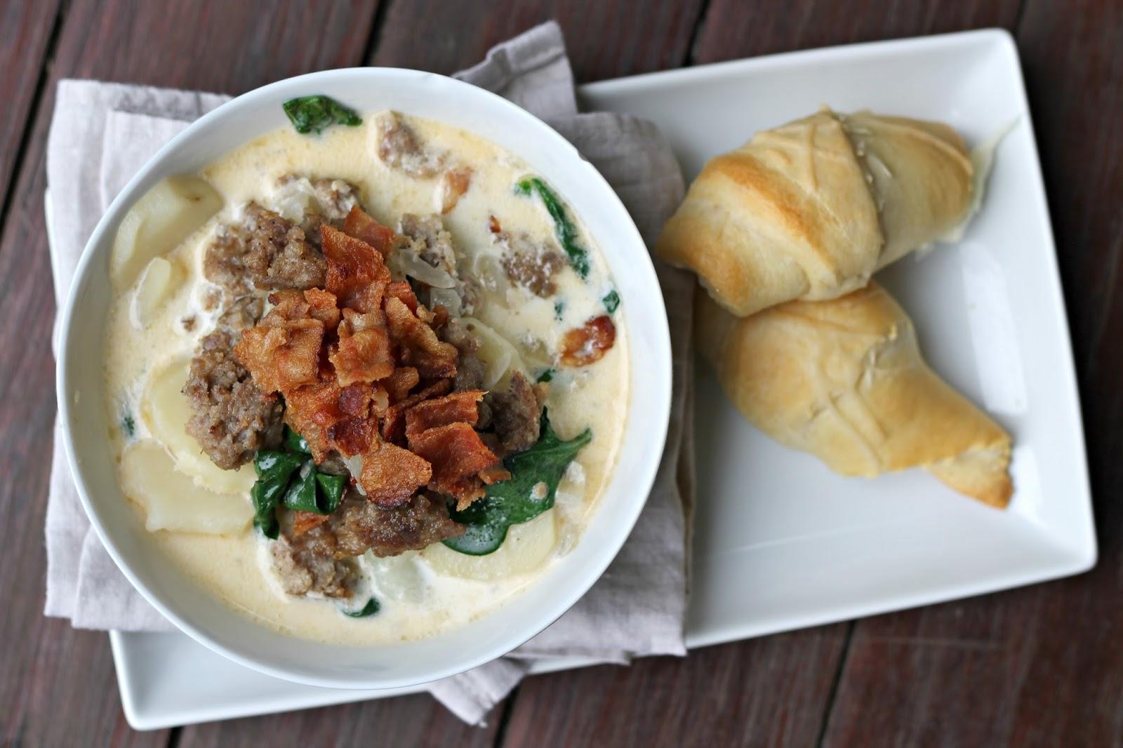 Carolina Charm Creamy Zuppa Toscana Soup Olive Garden