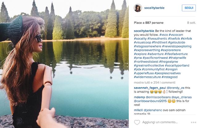 SocalityBarbie: perché le nostre vite su Instagram non sono autentiche