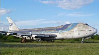 El malo, avión fantasma de aerolineas argentinas