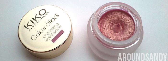 KIKO Colour Shock Long Lasting Eyeshadow 02 Sunset Coral