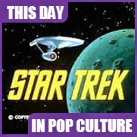 Star Trek the original TV show debuted on NBC September 8, 1966.