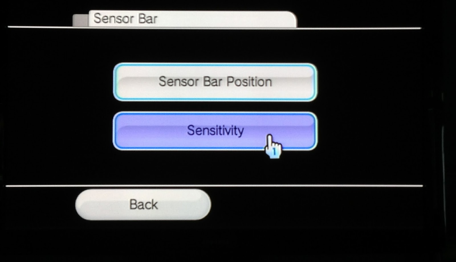 fet tricks build an invisible wii sensor bar for your tv click through until you get the dark screen that shows the led s as seen by the remote this is the best screen for diagnosing your set up