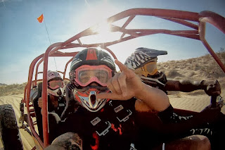 Las Vegas bachelor party ideas - Dune Buggy Ride