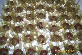 Mini trufas para festas