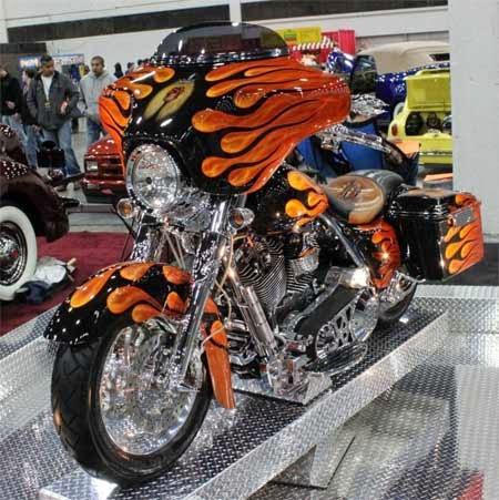 Modifikasi Unik Harley Davidson