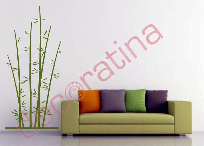Decoratina vinilos decorativos en las palmas florales - Vinilos decorativos las palmas ...