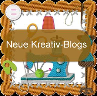 Hier findet ihr tolle, neue kreative Bloggs: