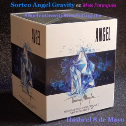 Sorteo Angel Gravity Thierry Mugler Miss Potingues