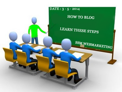 learn how to start blogging like school