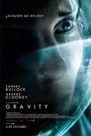 Poster Gravity 2013