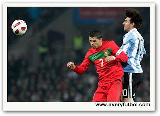 Resultado Partido Argentina (2) Vs Portugal (1) – Amistosos FIFA
