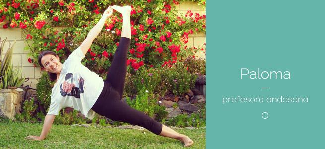 Paloma profesora yoga Andasana el puerto de santa maria