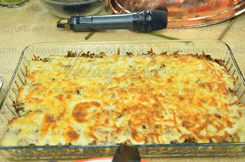 Beşamelli Mantarlı Patates Tarifi Kolay Yapımı