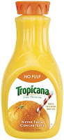 Tropicana, Pure Premium, Orange Juice, Logo, Florida