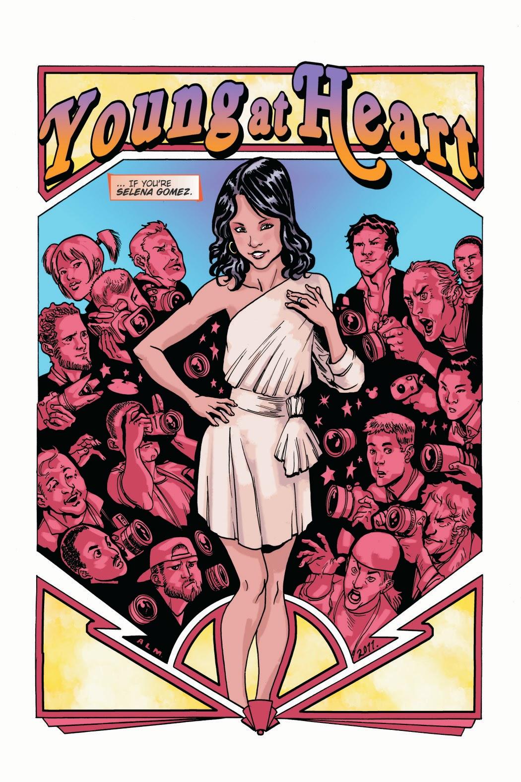 Victoria Justice And Nick Jonas Sneak peeks: bluewater comics