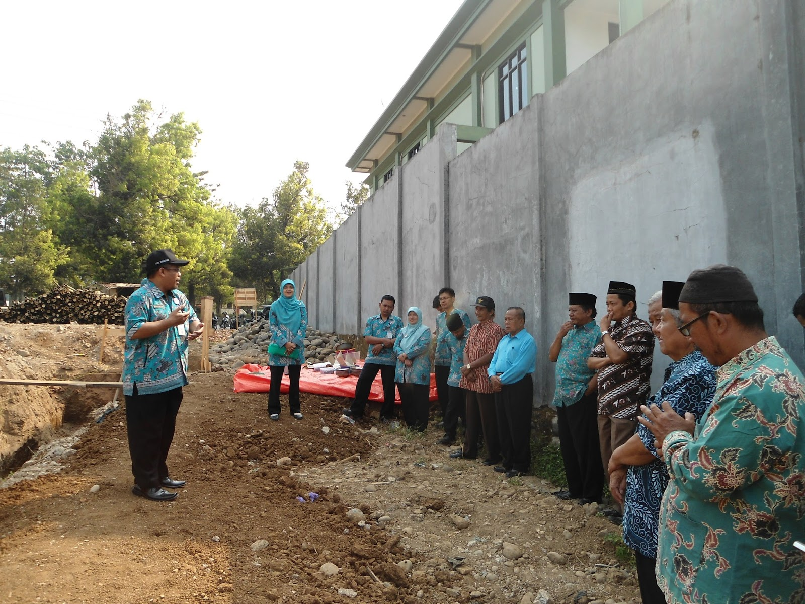 Pembangunan Gedung Baru