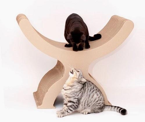 Картонная мебель «Кот обормот»