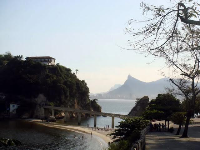 Tour Rio de Janeiro ponte para a Ilha da Boa Viagem