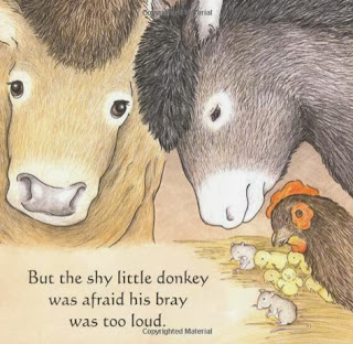 sample page #2 from The Donkey's Christmas Song   by Nancy Tafuri