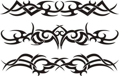 easy tribal tattoos impressive