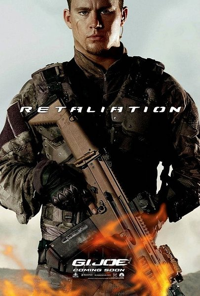 G I Joe Retaliation, Movie Poster