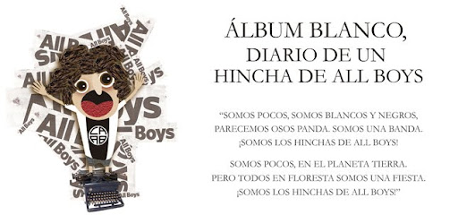 Álbum Blanco, diario de un hincha de All Boys