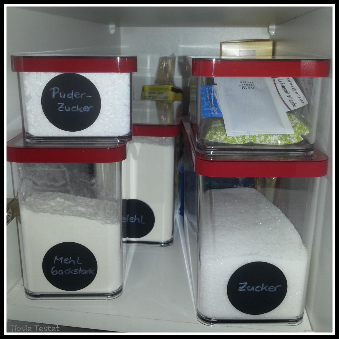 Tipsie Testet: Rotho - Ordnung im Küchenschrank