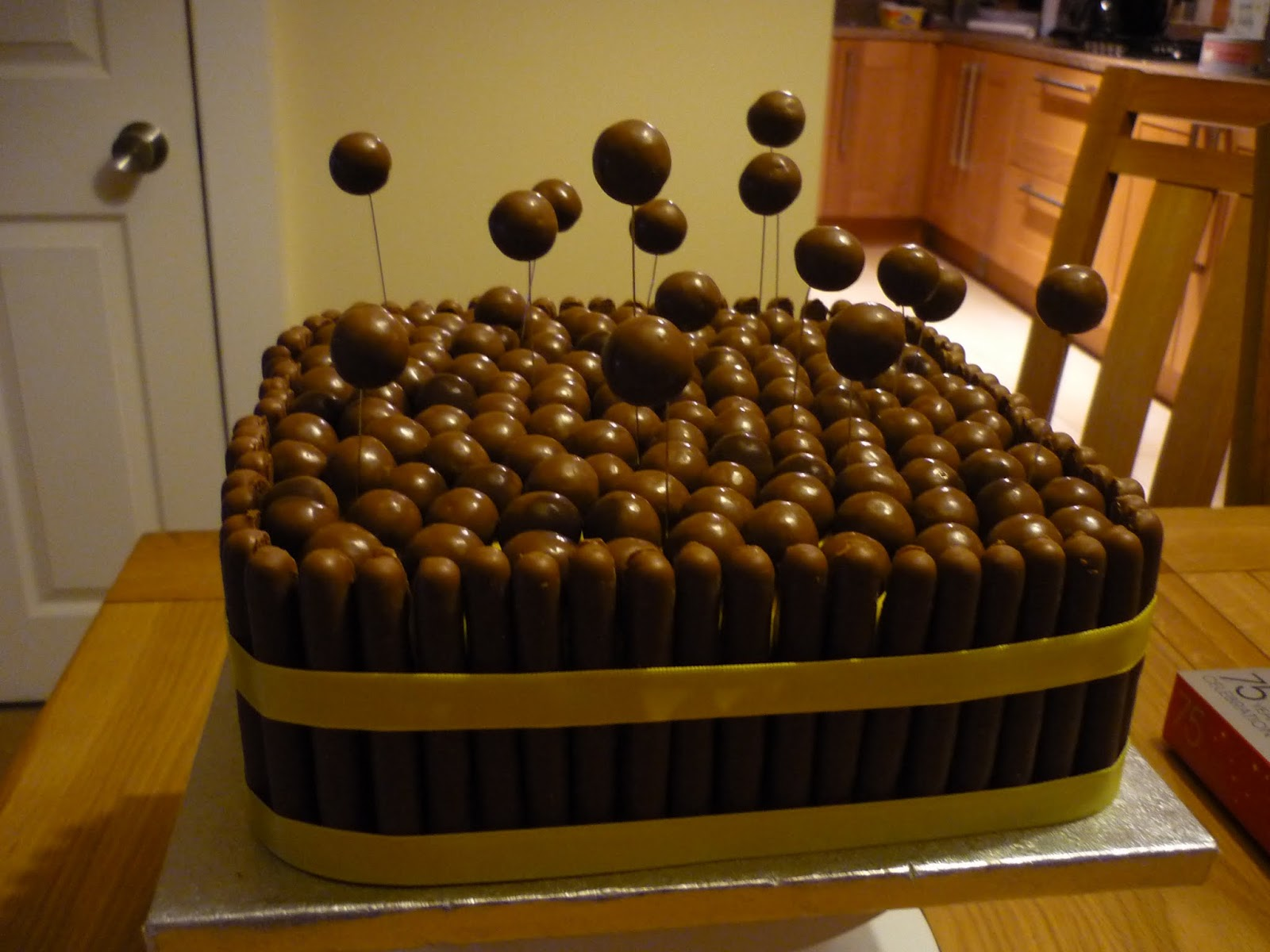 Best Chocolate Cake Decorating Ideas : Eat Cakes by Susan: My brothers birthday cake