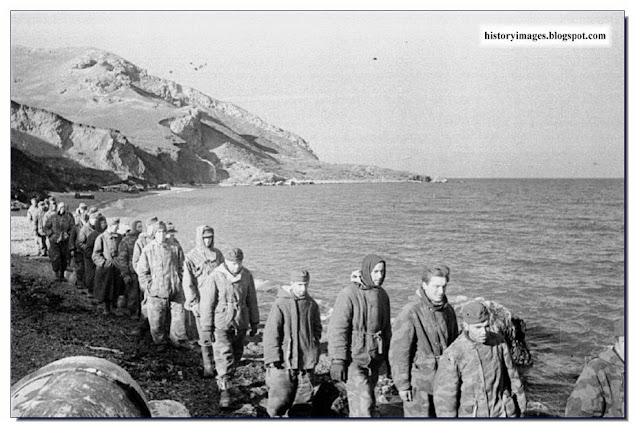 German POW  Crimea. 1944.