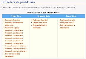BIBLIOTECA DE PROBLEMAS