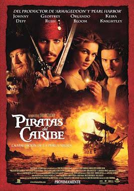Poster Piratas De El Caribe